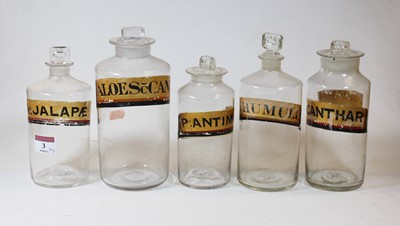 Lot 3 - A collection of five various 19th century...