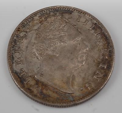 Lot 2108 - East India Company, 1835 one rupee, William...