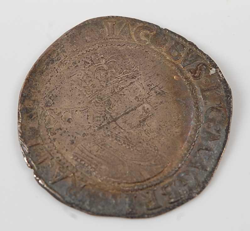 Lot 2091 - England, James I (1603-1625) shilling, second...