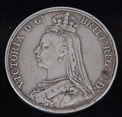 Lot 2092 - Great Britain, 1889 crown, Victoria jubilee...