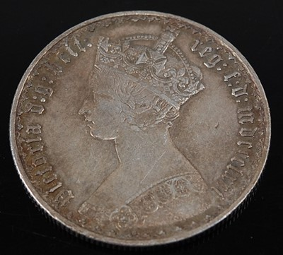 Lot 2093 - Great Britain, 1864 Gothic florin, Victoria...