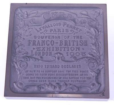 Lot 2001 - Franco-British Exhibition, London 1908, a...