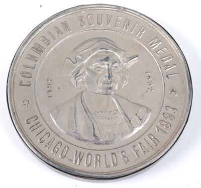 Lot 2003 - Chicago World's Fair 1893, Columbian Souvenir...