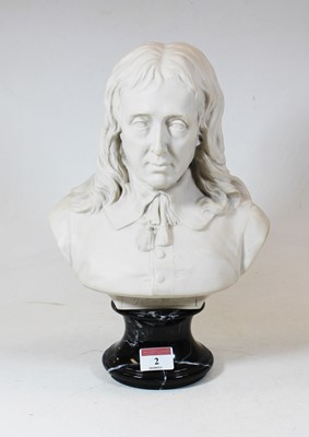 Lot 2 - A Victorian style head and shoulders portrait...