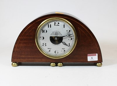 Lot 6 - An early 20th century French mahogany and...