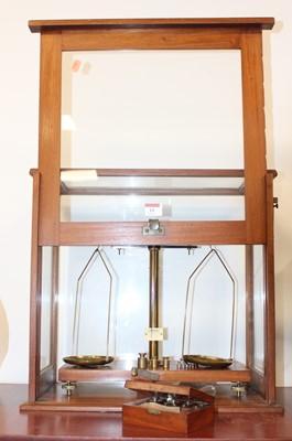 Lot 16 - A mid-20th century teak cased set of...