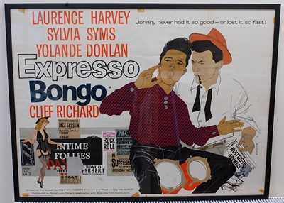 Lot 523 - Express Bongo, 1959 UK quad poster, starring...