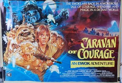 Lot 524 - Caravan Of Courage: An Ewok Adventure, 1984 UK...