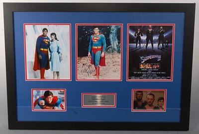 Lot 525 - Superman, a rare autograph presentation...