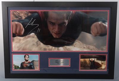 Lot 528 - Superman - Man of Steel (2013), a 29 x 70cm...