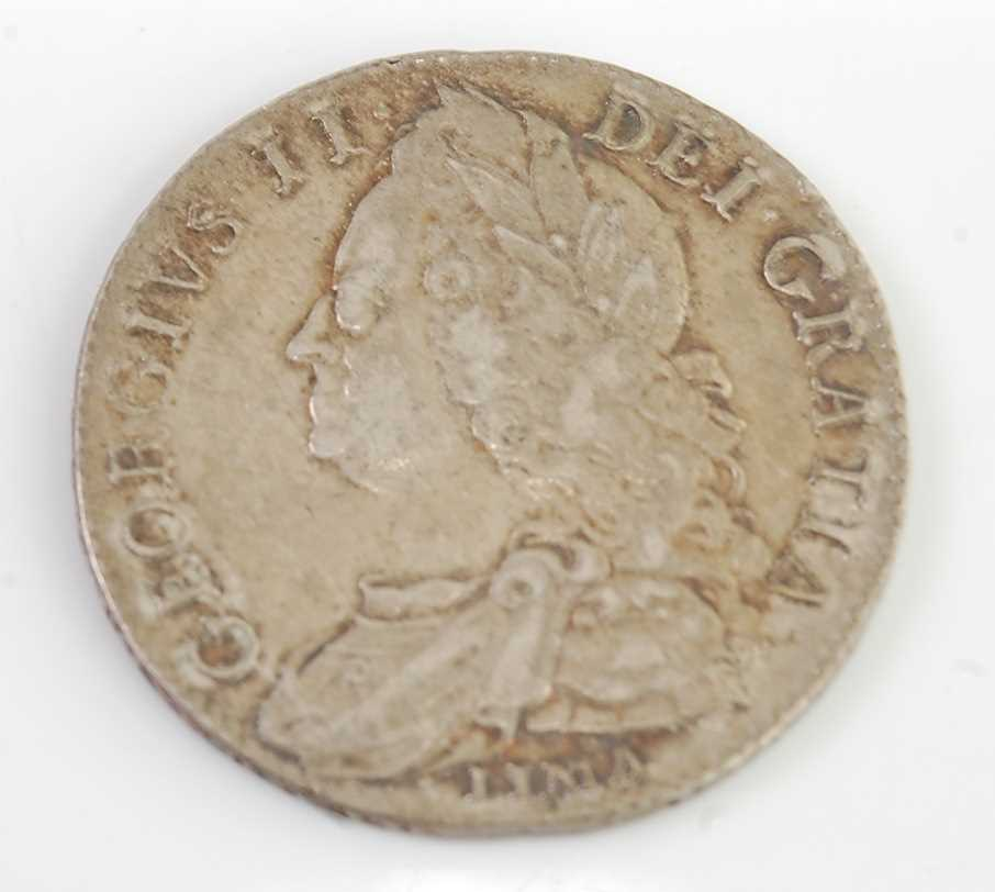 Lot 2097 - Great Britain, 1746 half crown, George II bust...