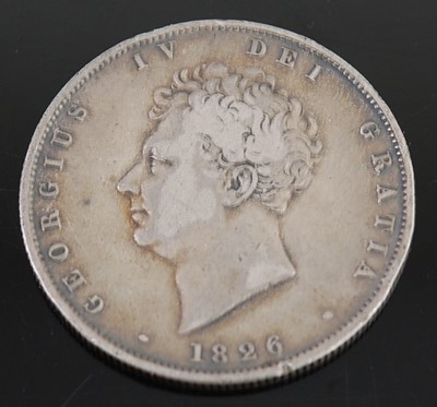 Lot 2103 - Great Britain, 1826 half crown, George IV bare...
