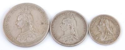 Lot 2113 - Great Britain, 1887 shilling, Victoria jubilee...
