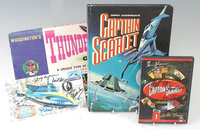 Lot 546 - Gerry Anderson's Captain Scarlet 1967 Annual,...