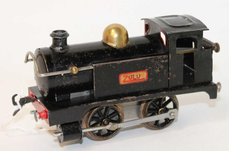 Lot 202 - 1922-3 No. 1 tank loco 'Zulu' plain black,...