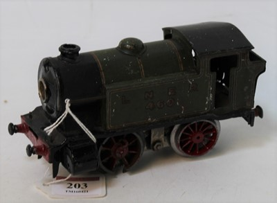 Lot 203 - 1928-9 Hornby No. 2 LNER 460 0-4-0 clockwork...