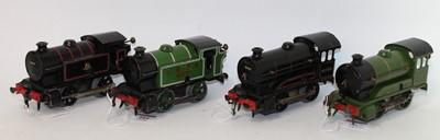 Lot 204 - Four Hornby 0-4-0 clockwork locos, 1947-54 No....