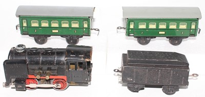 Lot 211 - Karl Bub electric train set comprising 0-4-0...