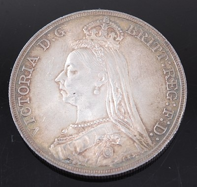 Lot 2114 - Great Britain, 1889 crown, Victoria jubilee...