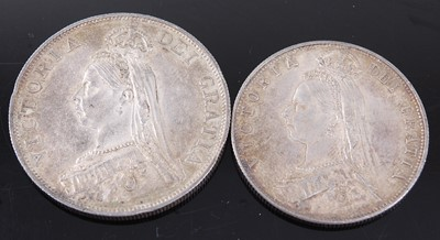 Lot 2115 - Great Britain, 1889 double florin, Victoria...