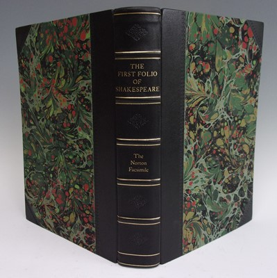 Lot 1009 - The First Folio of Shakespeare, Norton...