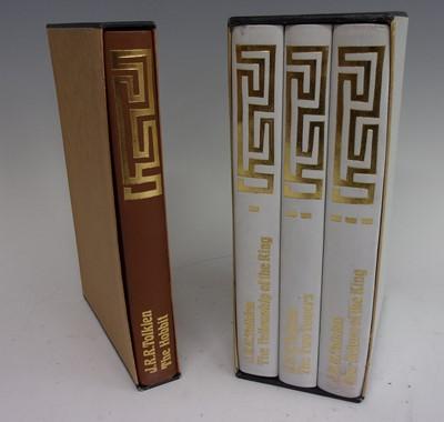 Lot 1010 - TOLKIEN, J.R.R. The Hobbit. Folio Society,...