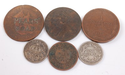 Lot 2156 - World, a collection of miscellaneous coins to...