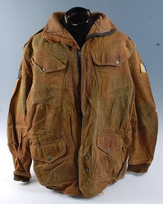Lot A large collection of post WW II uniforms and...