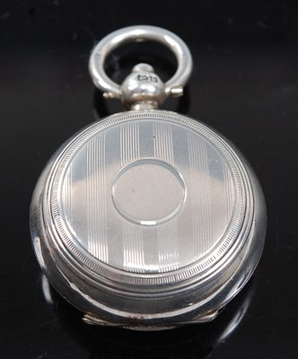Lot 2081 - A George V silver sovereign case, having...