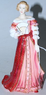 Lot 20 - A Royal Doulton figurine Georgian Queens...
