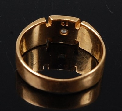 Lot 2580 - A mid-Victorian diamond signet ring, featuring...