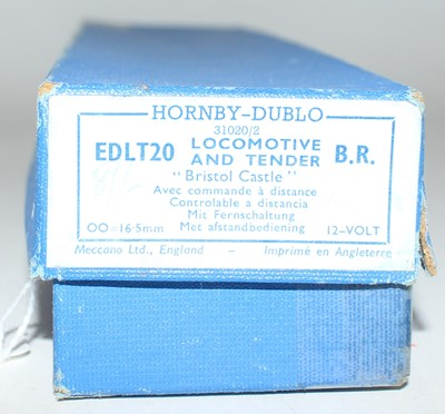 Lot 305 - Hornby Dublo EDLT20 4-6-0 Bristol Castle loco...