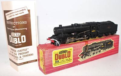 Lot 313 - Hornby Dublo 2224 2-rail locomotive and tender...