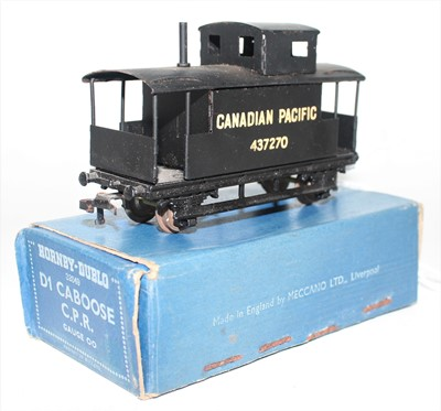 Lot 316 - Hornby Dublo D1 Caboose for Canadian Pacific...
