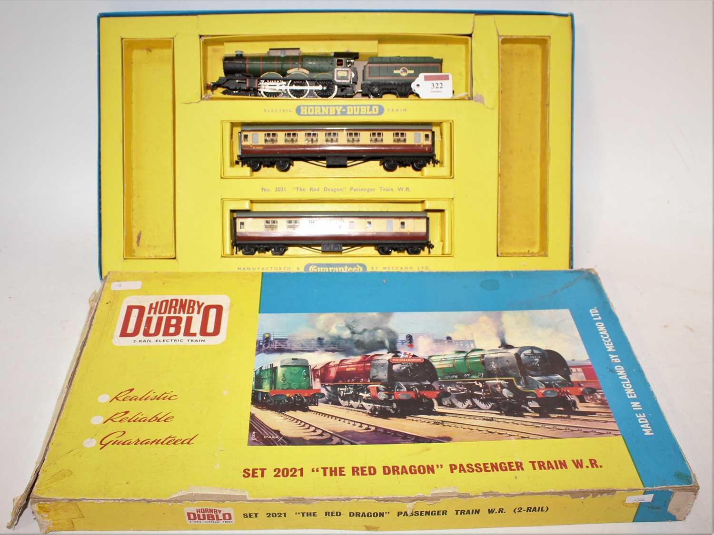 "Lot 322 - Hornby Dublo 2021 ""The Red Dragon"" 2-rail..."