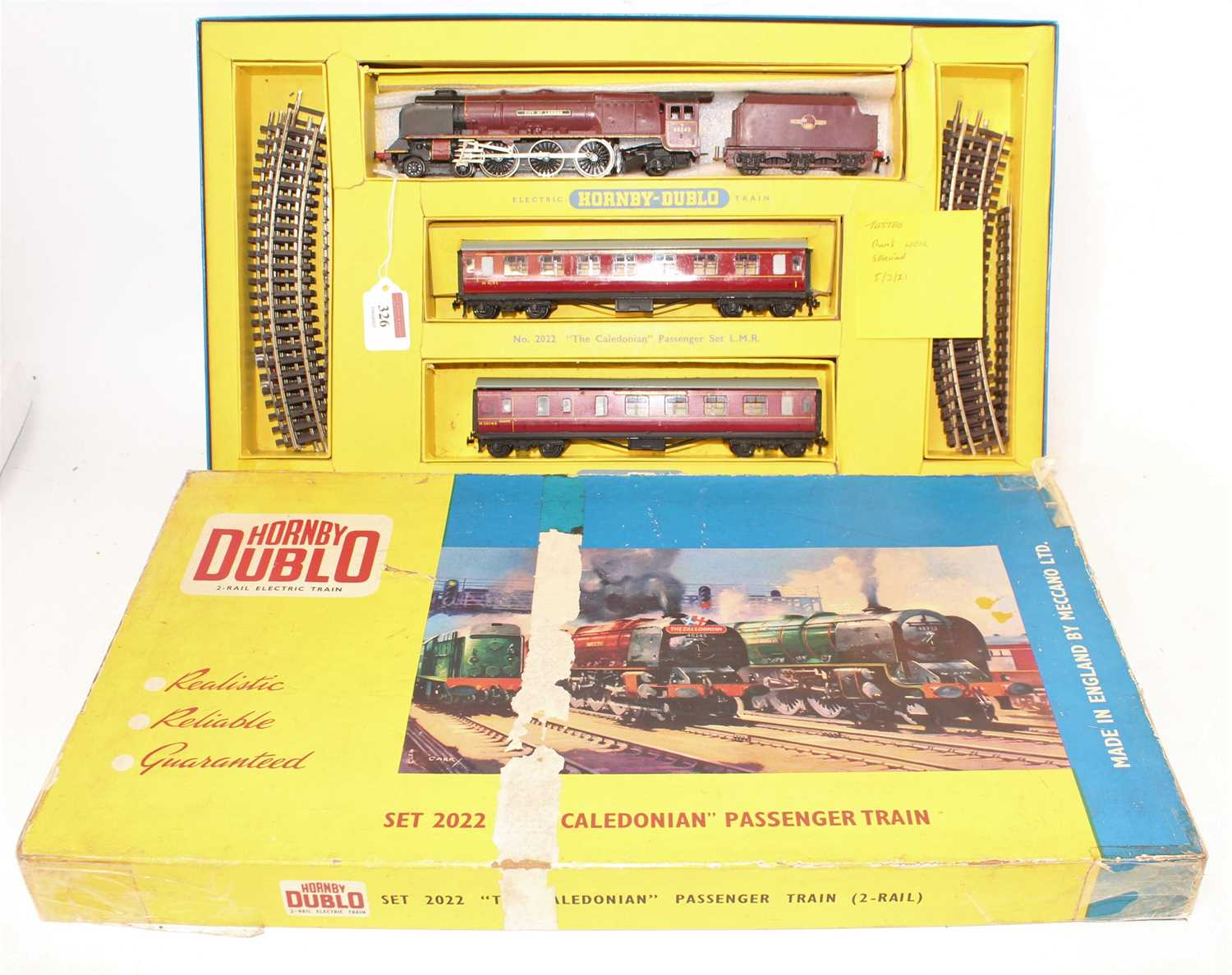 Lot 326 - Hornby Dublo 2022 2-rail The Caledonian...