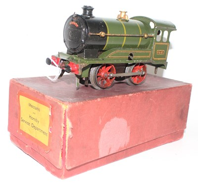 Lot 223 - Hornby 1931-35 Clockwork No.0 revised body...