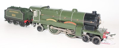Lot 224 - Hornby 1934-36 E320 20V AC Lord Nelson 4-4-2...