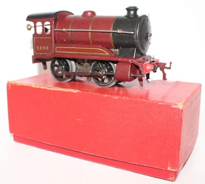 Lot 227 - Hornby 1949-54 No.501 Clockwork Loco only,...