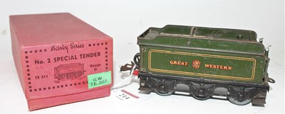 Lot 214 - Hornby No.2 Special tender, housed in the...