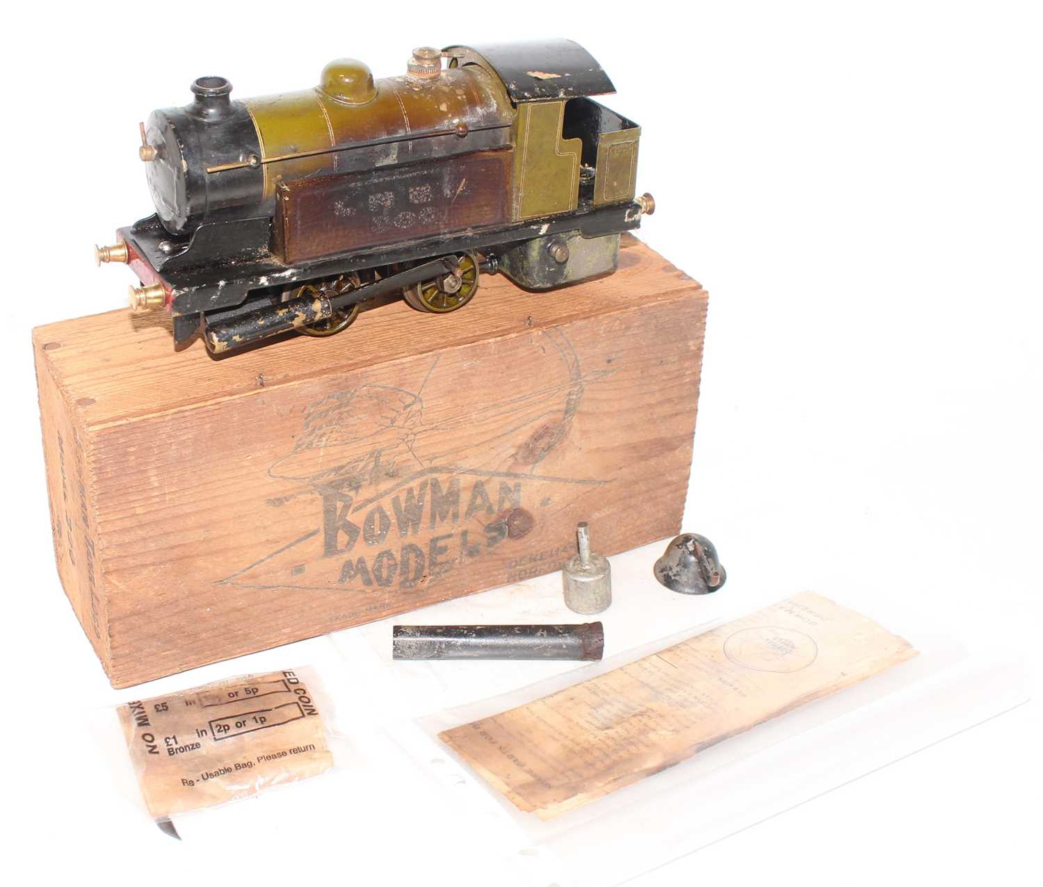 Lot 217 - Bowman Models of Dereham LNER No.300 0-4-0...