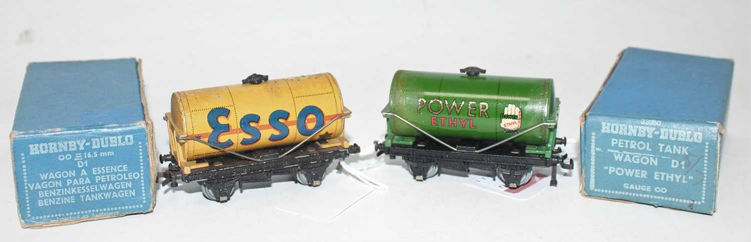 Lot 346 - Two Post War Tank Wagons including Buff ESSO,...