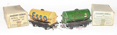 Lot 347 - Two Post-War Tank Wagons, Buff Esso, paint...