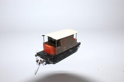 Lot 351 - 3 Hornby Dublo Post War SR Goods Wagons, Meat...