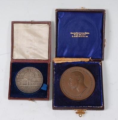 Lot 2014 - London International Exhibition 1862 silver...