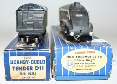Lot 389 - Hornby Dublo EDL11 Silver King, 3-rail loco...