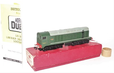 Lot 391 - Hornby Dublo 2230 BoBo Diesel Electric 2-Rail...