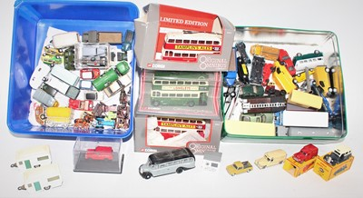 Lot 373 - Large box containing mainly 00 Gauge diecast...