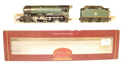 Lot 378 - Hornby Top Link Loco and Tender R2038A B17/4...