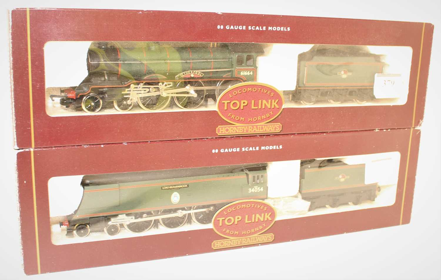 Lot 379 - Two Hornby Toplink Locos and Tenders to...
